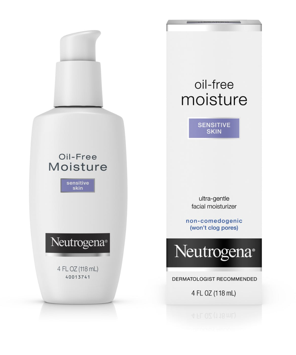 Neutrogena® OilFree Face Moisturizer for Sensitive Skin