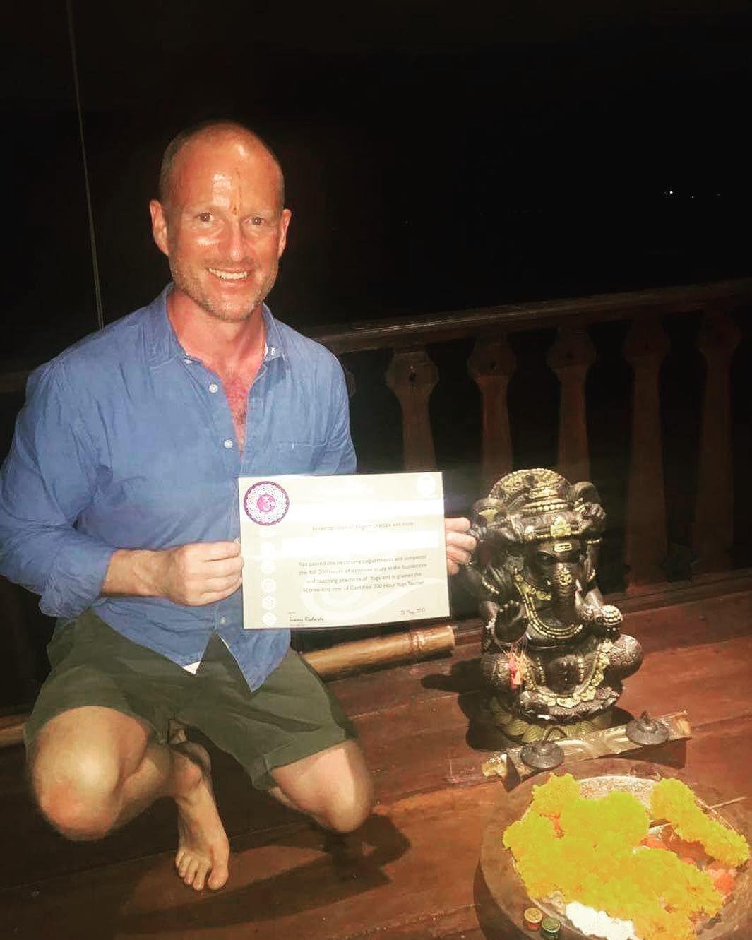 Its official im now a 200hr yoga teacher
