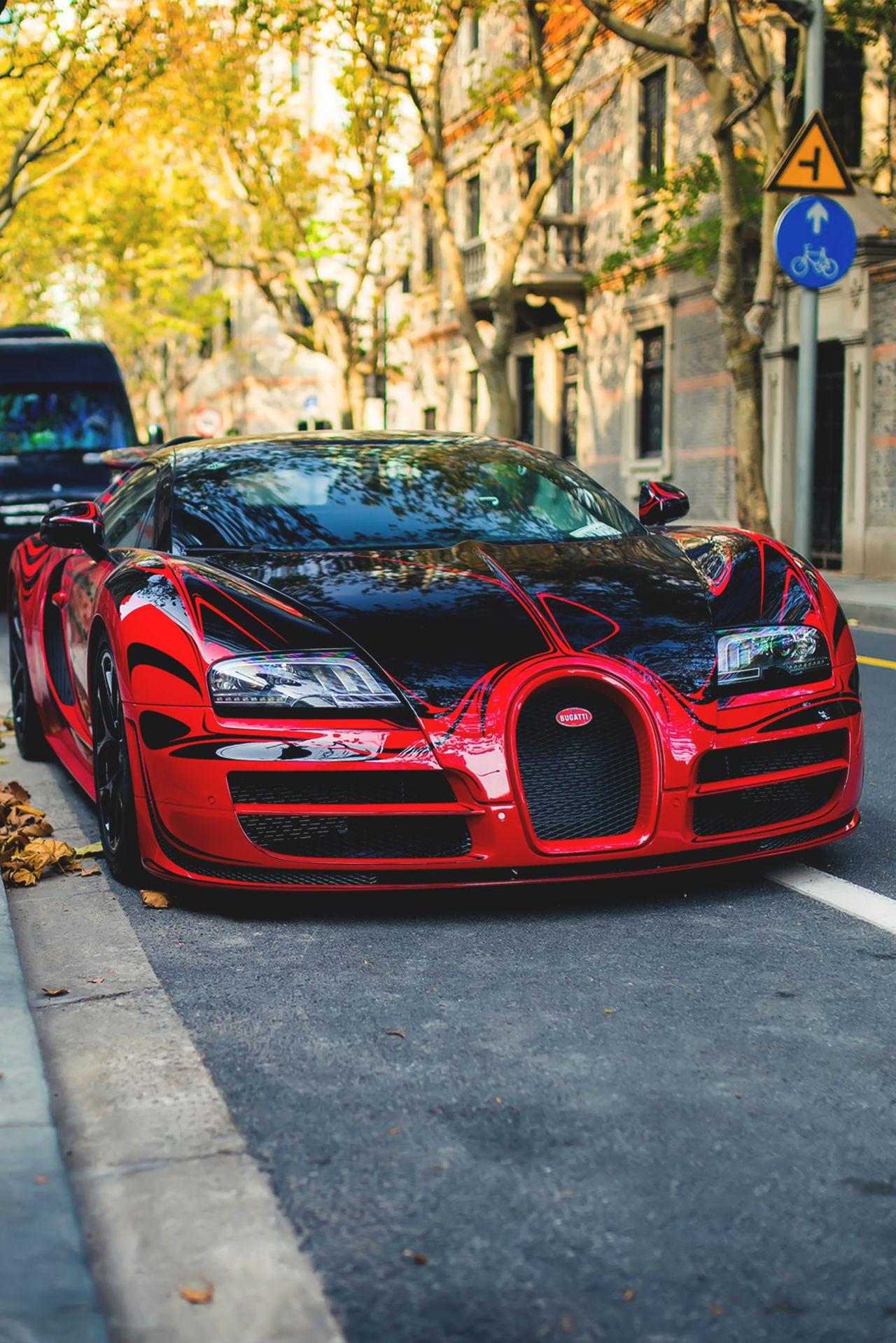 L Or Rouge In Shanghai By Webb Cheung More Bugatti Cars