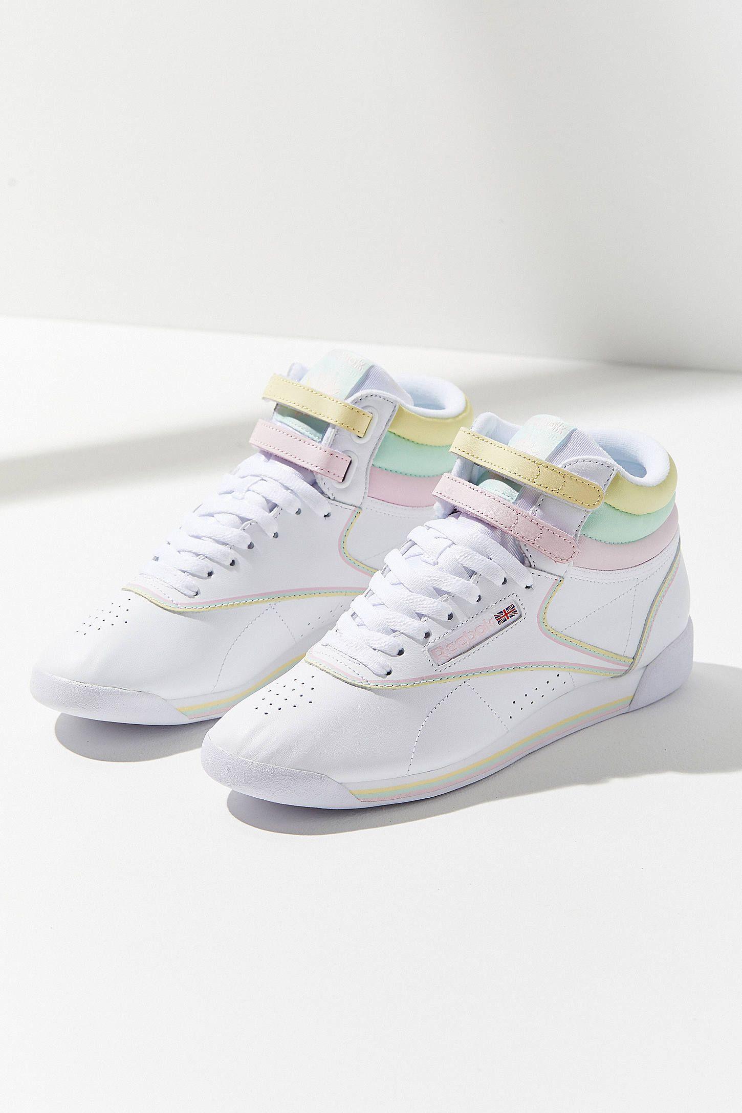 619409014e0 reebok x glow freestyle hi pastel sneaker off 53% - www.gervez ...