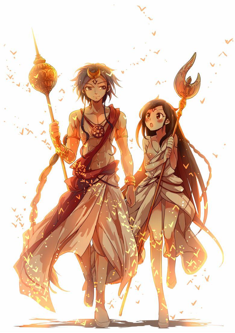 Magi The Labyrinth of Magic Sheba and Solomon Magi