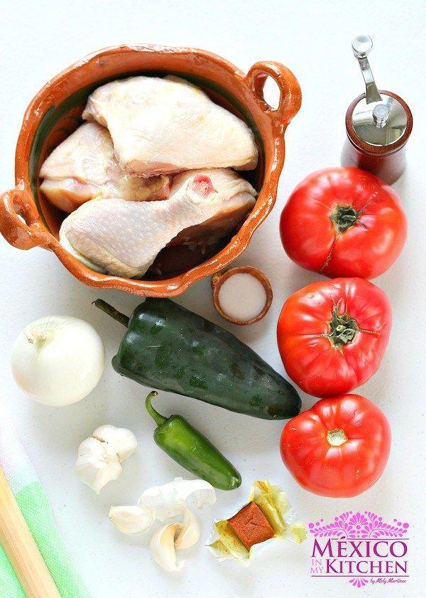 Pollo entomatado, ingredientes fáciles de encontrar en tu cocina ...
