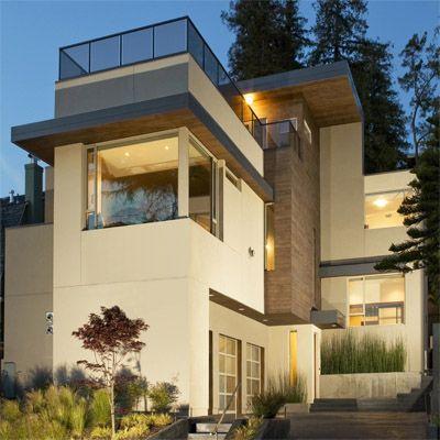 modern stucco and siding Architecture Pinterest Cedar siding