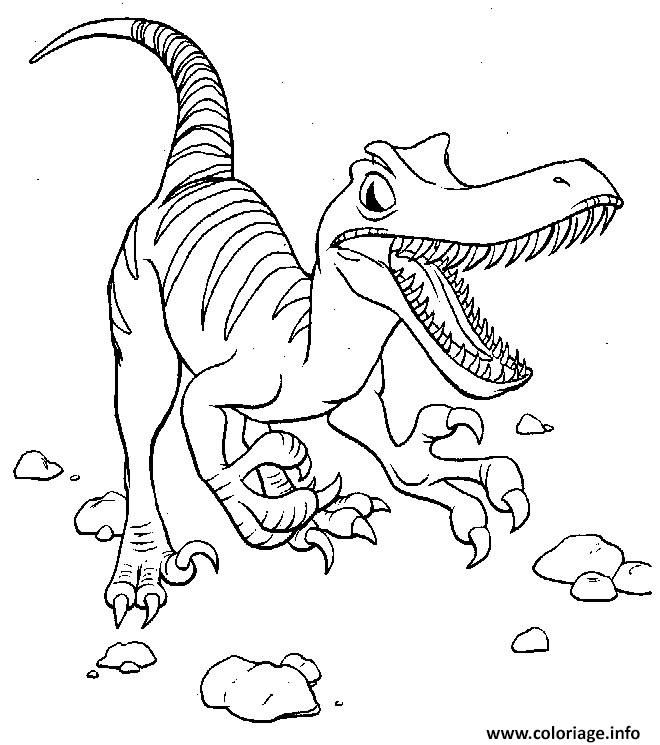 Coloriage dinosaure 12 Dessin à Imprimer | C | Pinterest