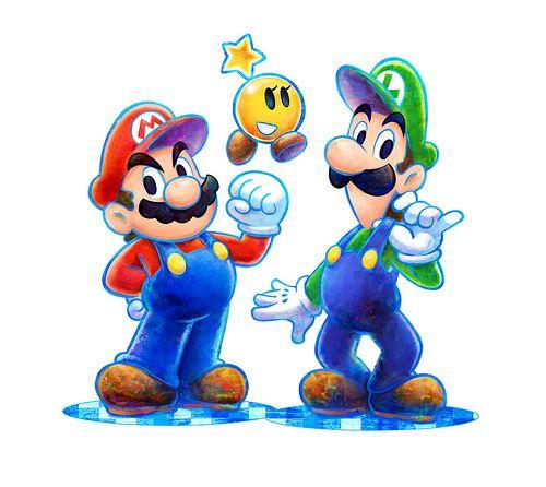 Mario And Luigi Dream Team Mario And Luigi Super Mario Art Mario Art