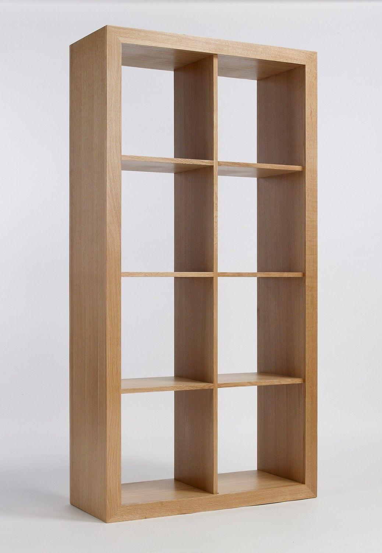 Klassische Bücherregale sherwood oak cube 2 4 storage bedroom