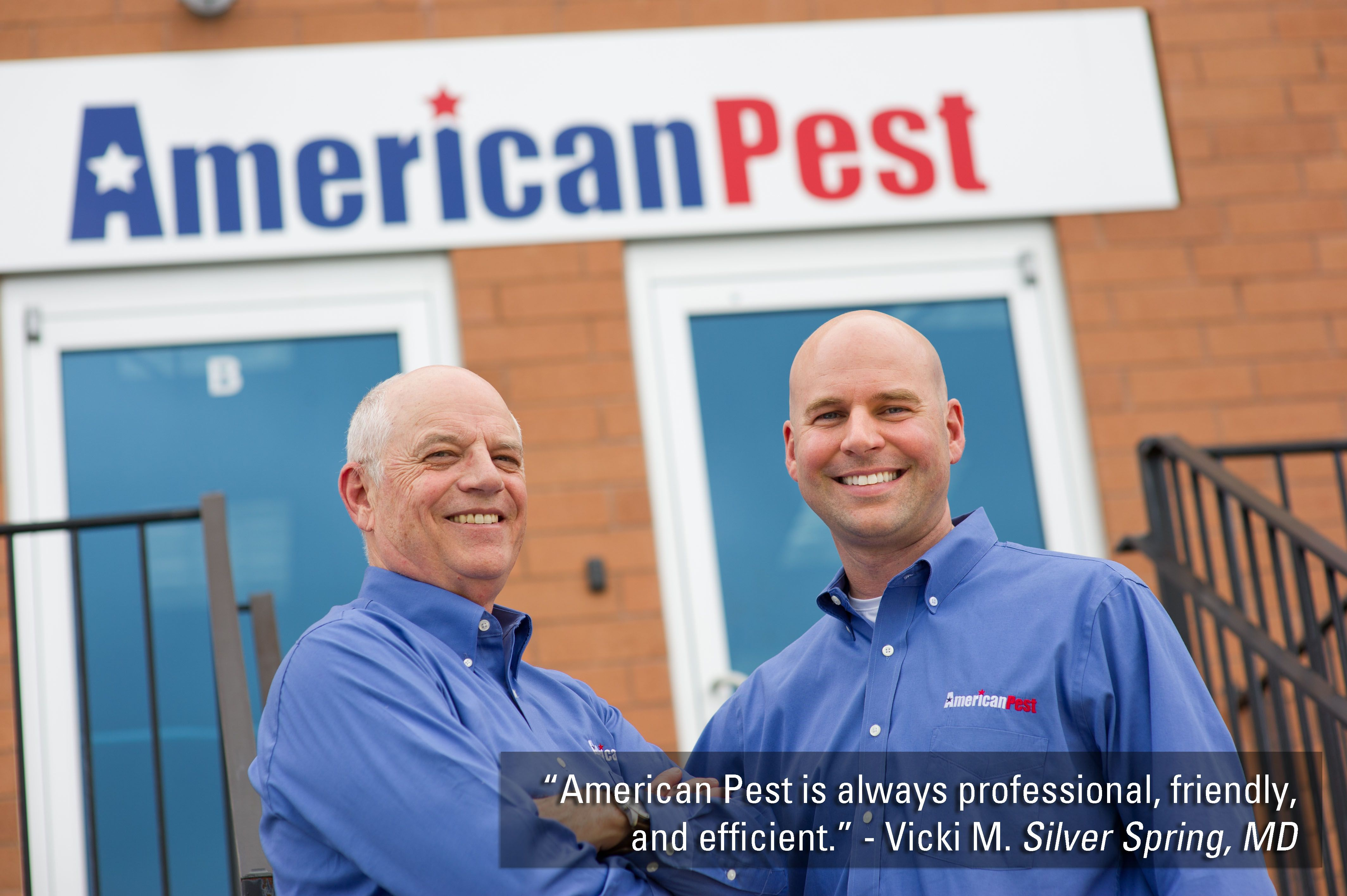 Quotes from actual American Pest Customers. American