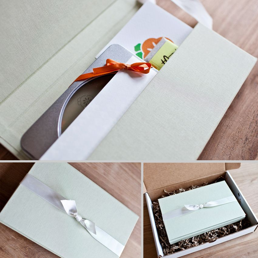 Wedding Packaging by Persimmon Images Seattle Wedding Photographers