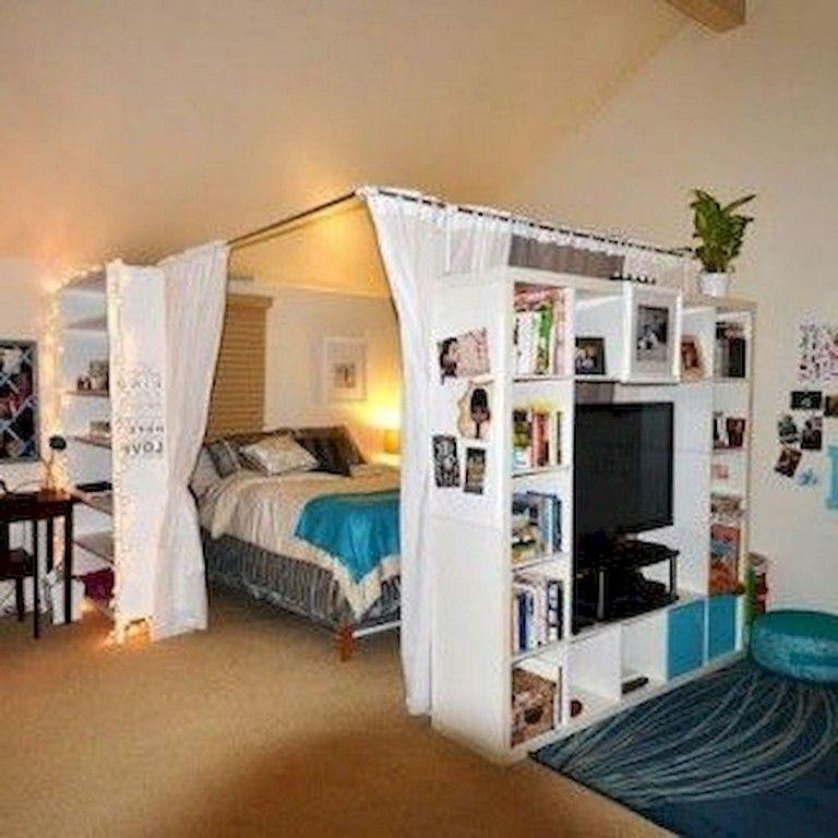 80 Best Small Apartment Studio Decor Ideas on A Budget ...