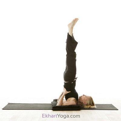 yoga pose supported shoulderstand pose/salamba