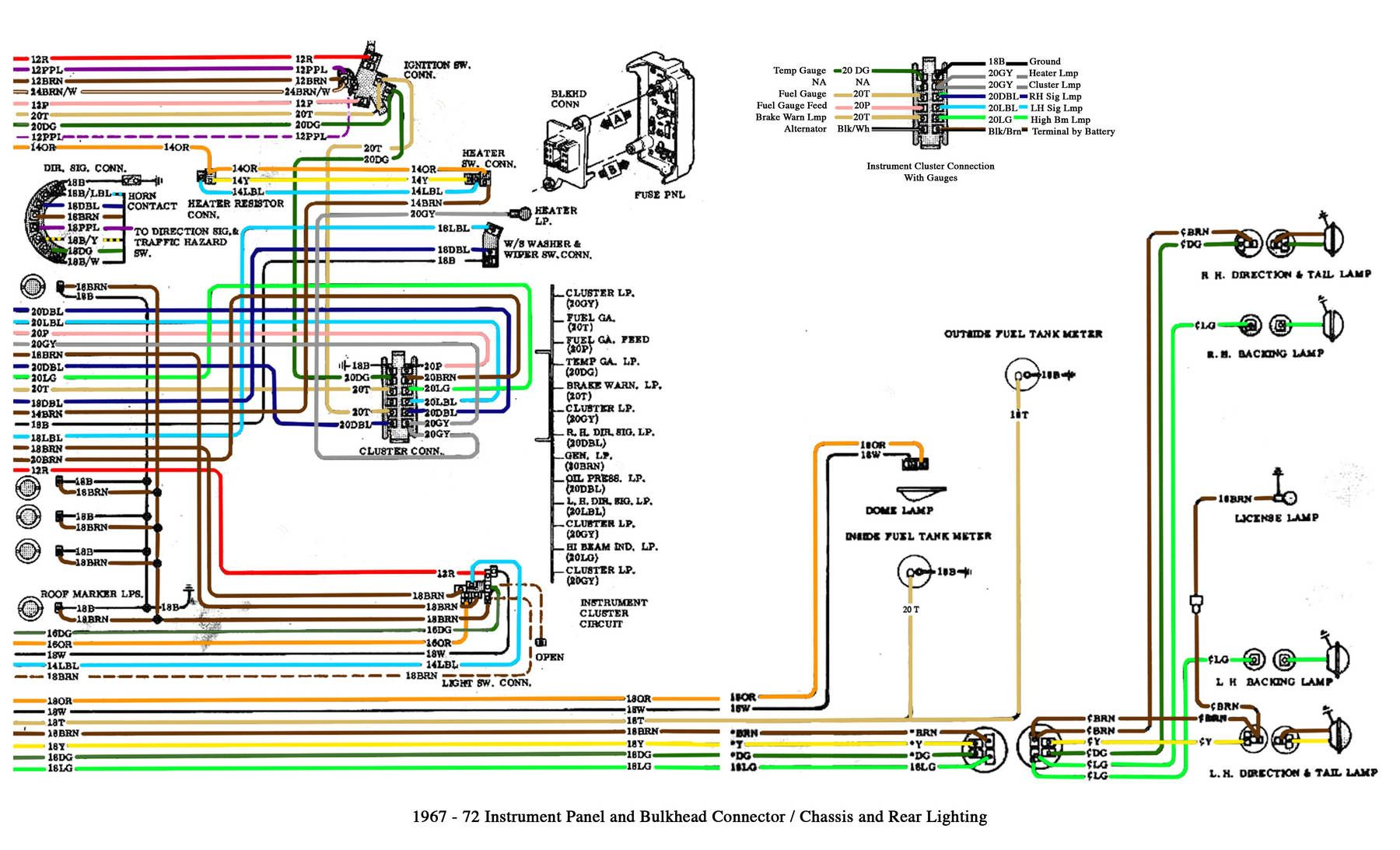wiring diagram | Bryan's old truck | 72 chevy truck, Chevy