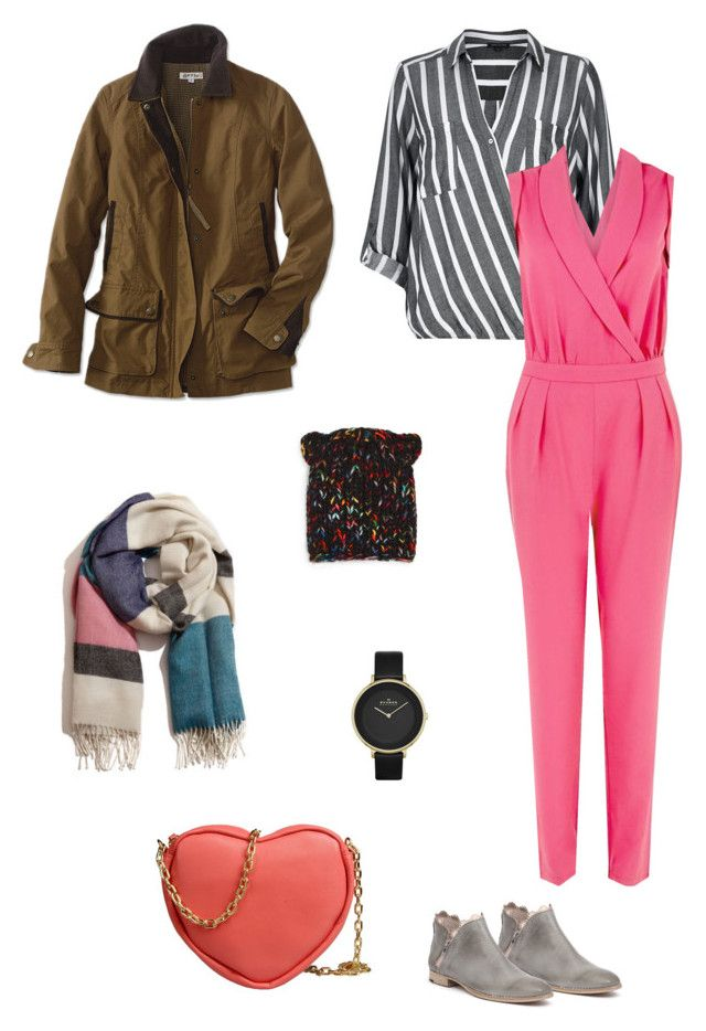 """Melange"" by brooklynbeatz ❤ liked on Polyvore featuring Mollini, River Island, Girls On Film, A Peace Treaty, Skagen, George J. Love and Eugenia Kim"