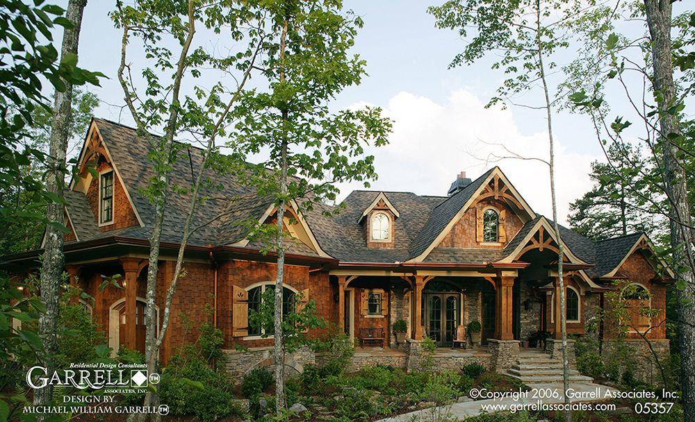 Lakeview Cottage 05357 Garrell Associates Inc Craftsman Style House Plans Mountain House Plans Ranch House Plans