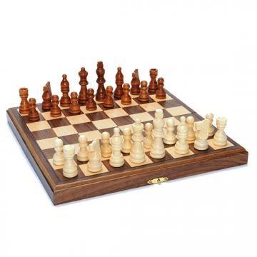 Folding Chess Set - Travel Chess Set - Portable Chess Set | HomeDecorators.com $44