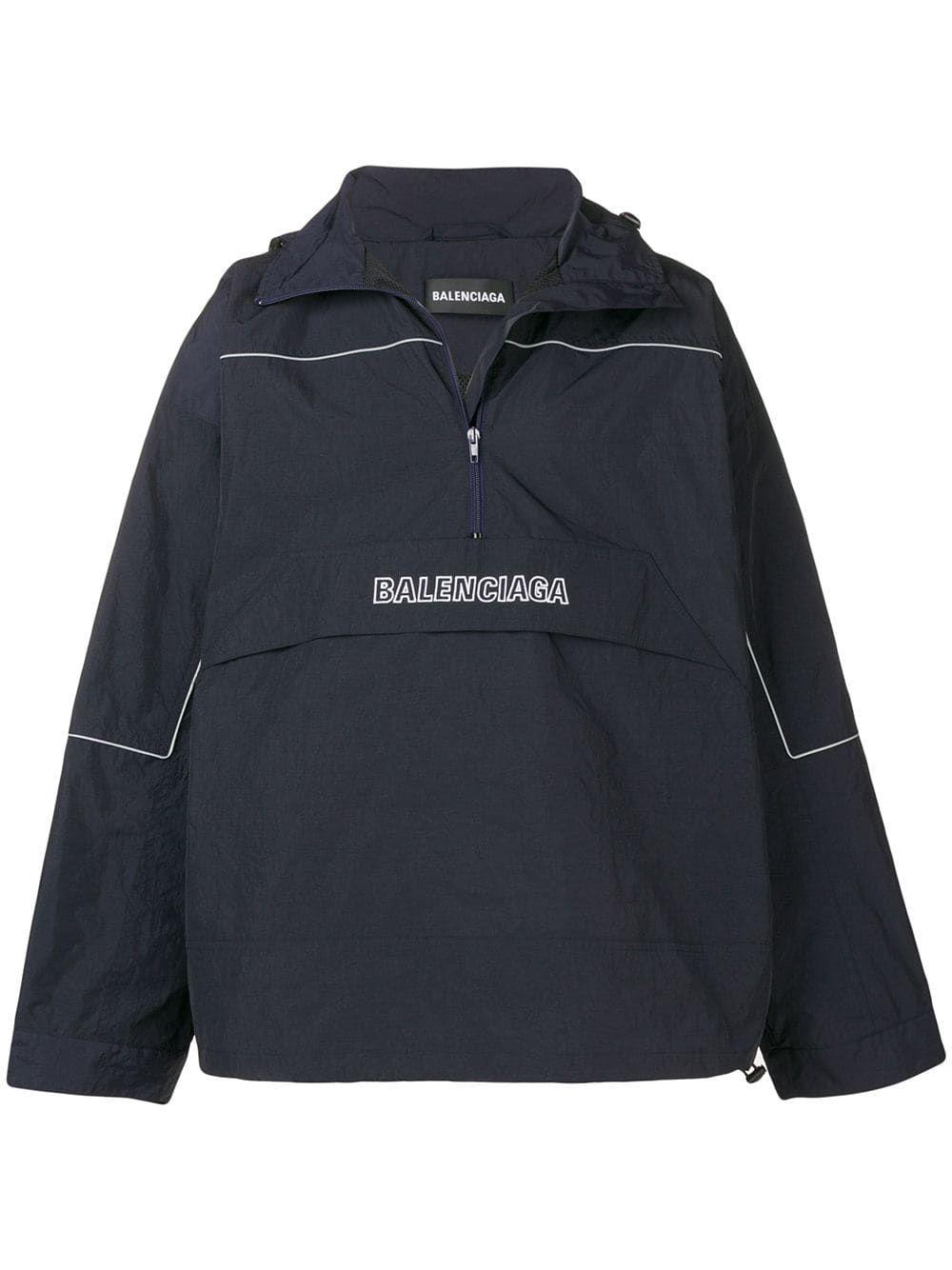 BALENCIAGA BALENCIAGA WINDBREAKER BLUE. #balenciaga #cloth