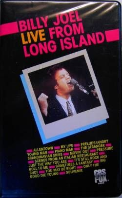 Live From Long Island He S Our Songman Wrote Most Of His Songs About Long Island Love Him With Images Billy Joel I Love Ny Video L