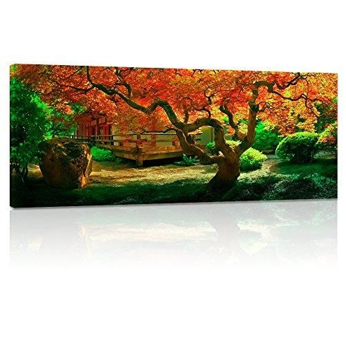 755a552f3e6 Large Size Autumn Forest Canvas Wall Art Prints Tree Forest Painting  Printed on Canvas