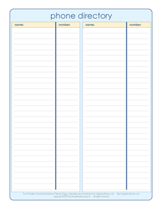 Phone Book Template. phone list template excel landscape crew ...