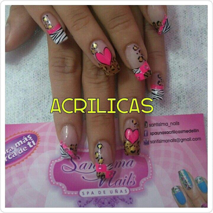 Spa de uñas santísima | Nails | Pinterest | Spa de uñas, Spa y Santos