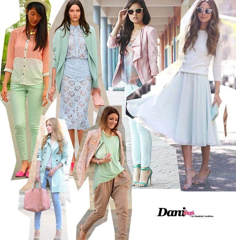 66eb255f7 Veja varios looks com as cores da moda 2019 Tendência Cores da Moda 2019  Candy Colors
