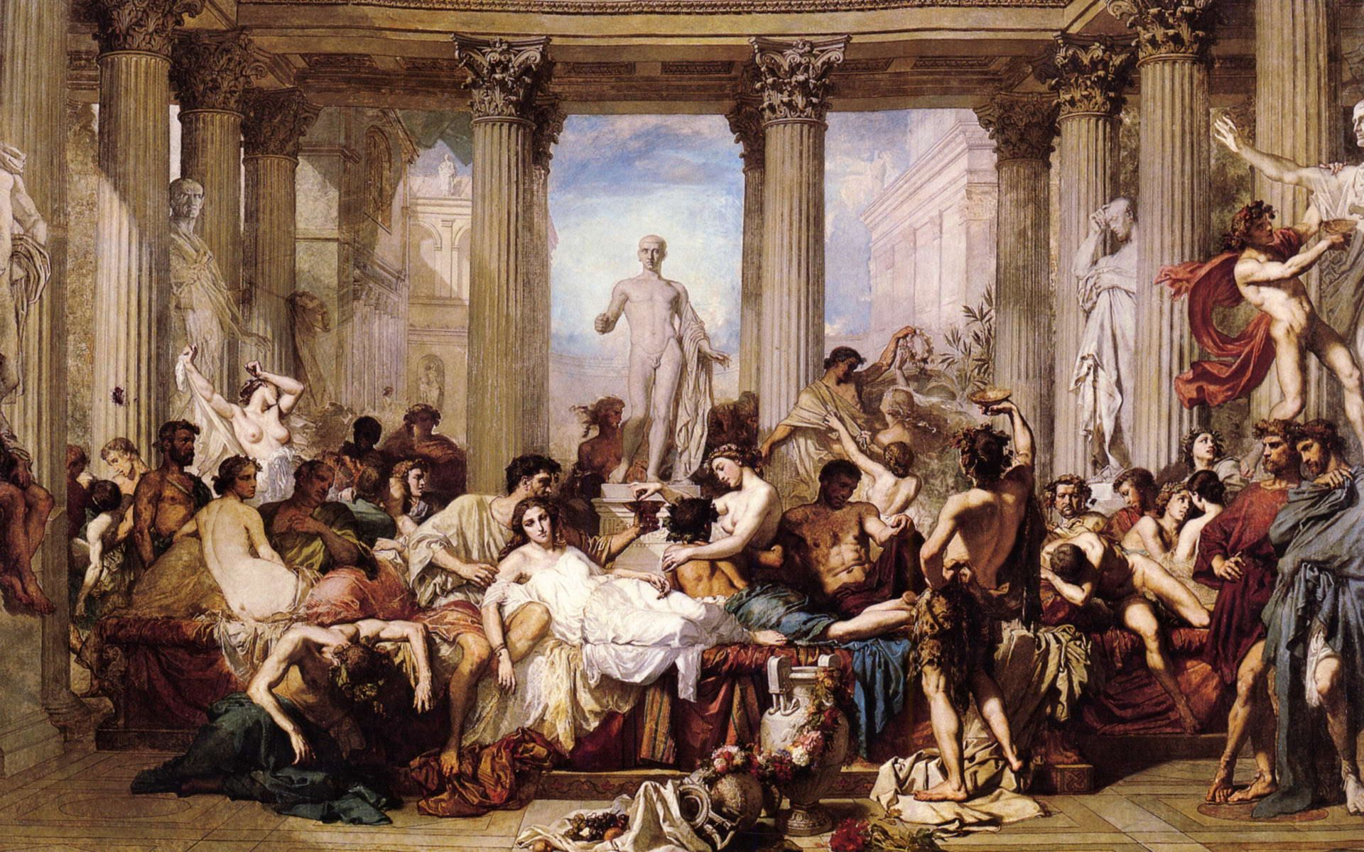 Ancient Greek Painting Wallpaper Greekpainting Myspace Thomas Couture Google Art Project Painting Wallpaper