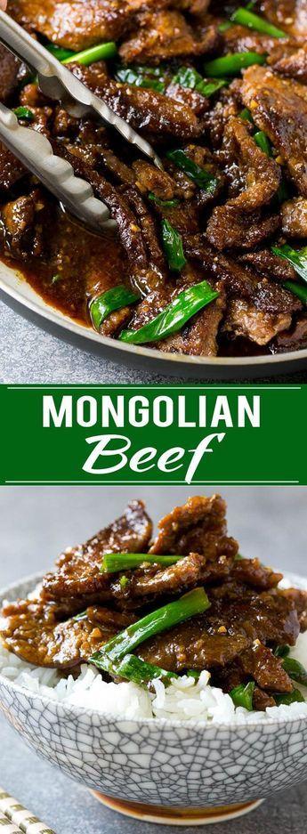 Mongolian Beef Recipe Asian Beef Recipe Beef Stir Fry