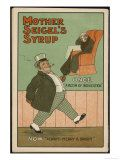 """""""Once, a Victim of Indigestion: Now, Always Merry and Bright!"""", Thanks to Mother Seigel's Syrup Giclee Print"""