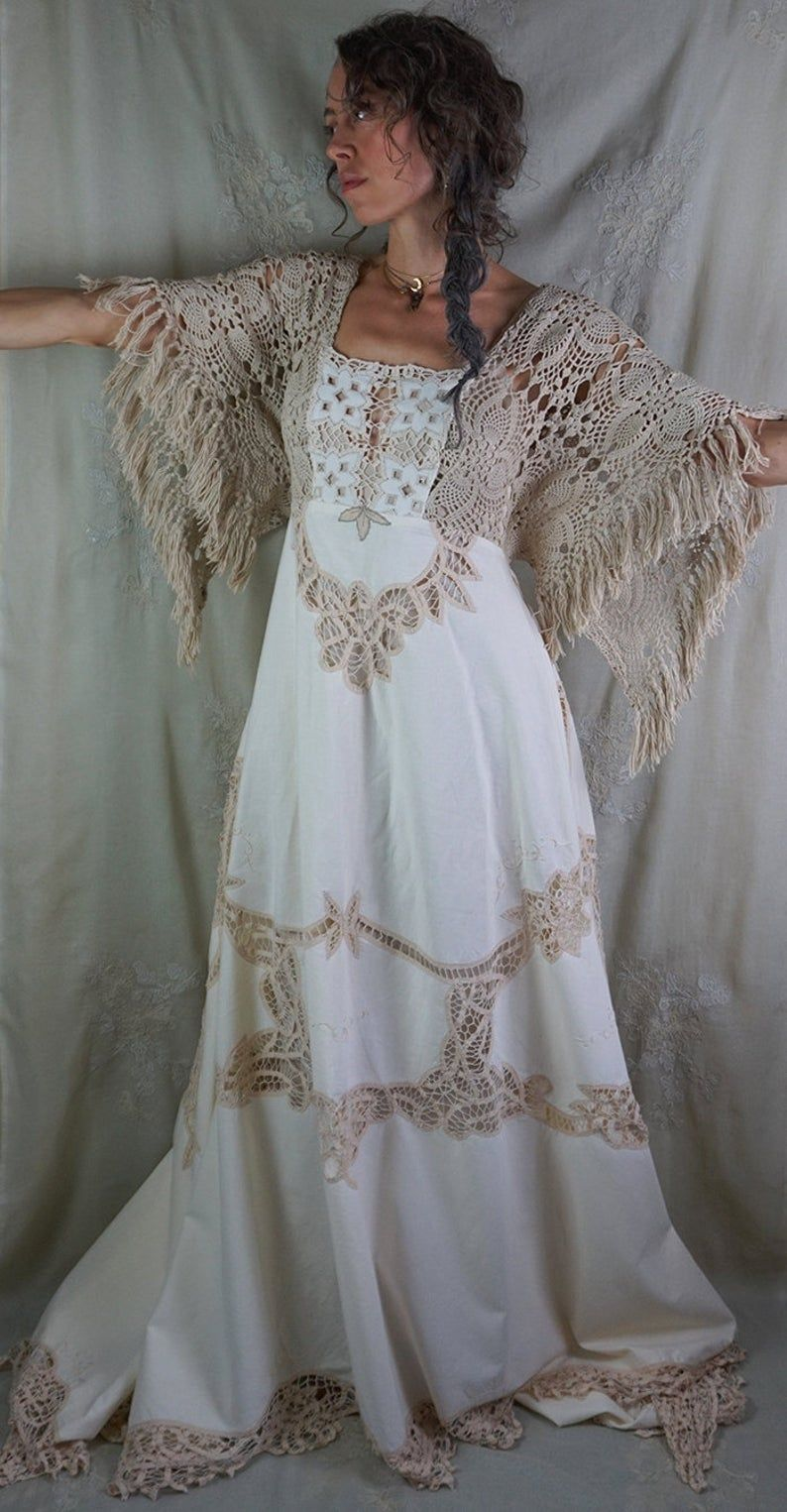 RESERVED Equinox Gown... wedding dress photoshoot rustic