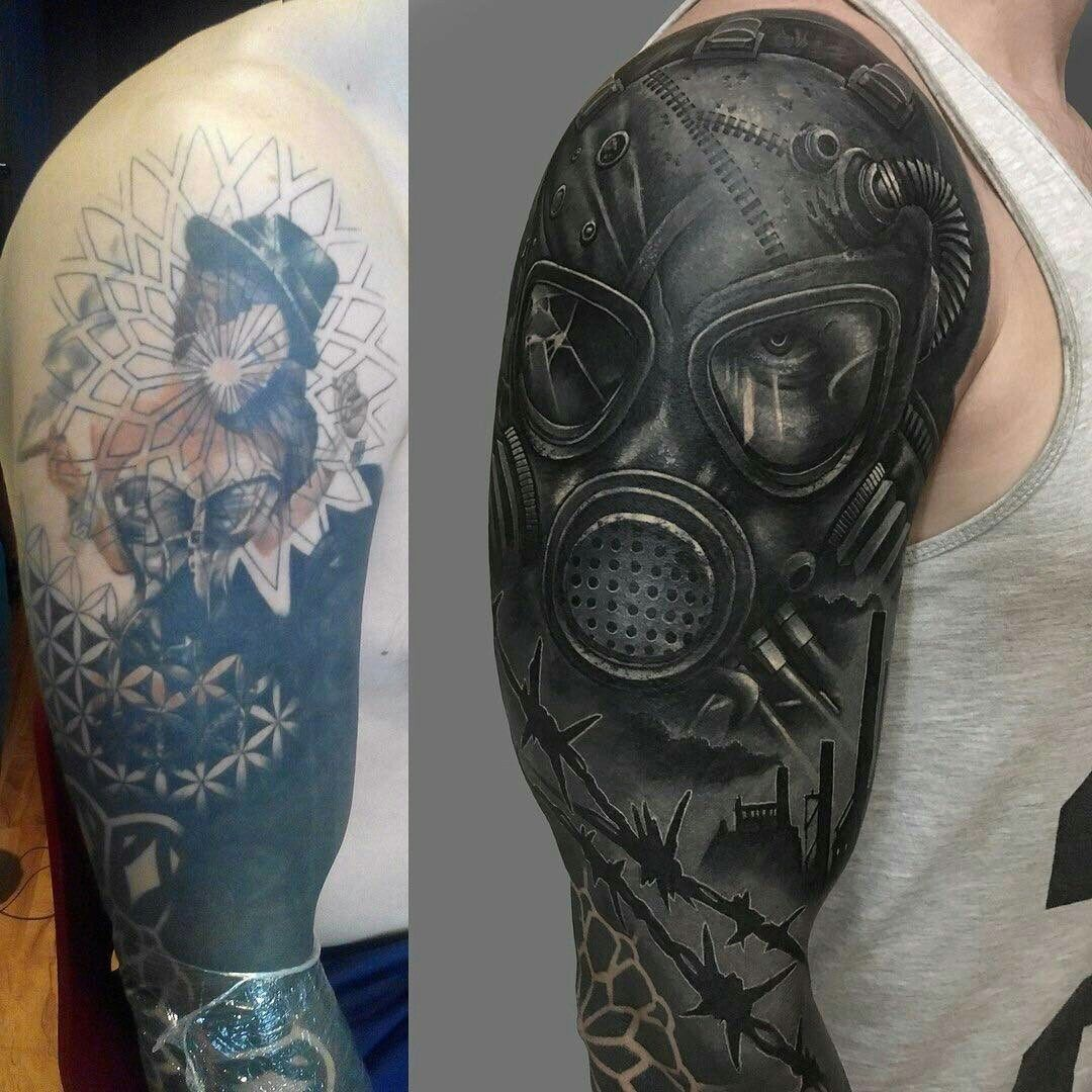 Heart cover up tattoo ideas image discovered by soph discover and save your own images and