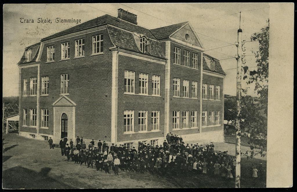 Ostfold Fylke Fredrikstad Trara Skole Glemminge Med Alle Elever