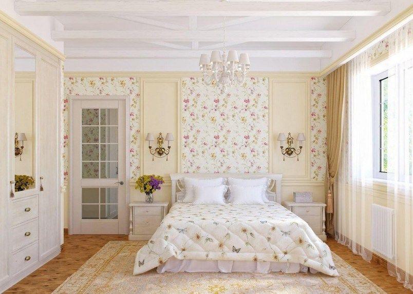 30 Beautiful Floral Bedroom Wallpaper Inspirations Bedroom