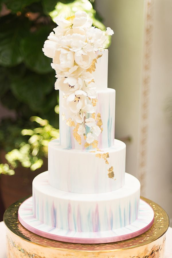 Artistic Styled Wedding Inspiration | Strictly weddings, Art cakes ...