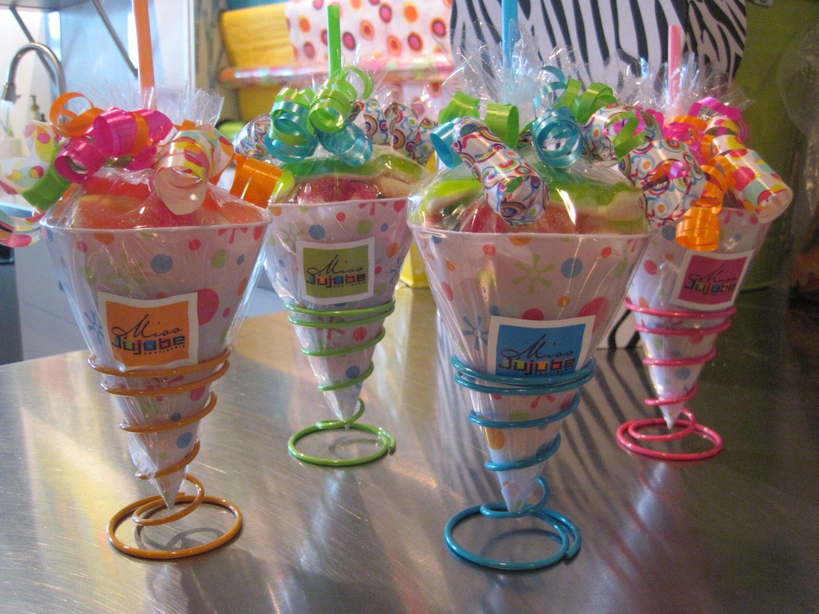 Candy cones candy cone glassware