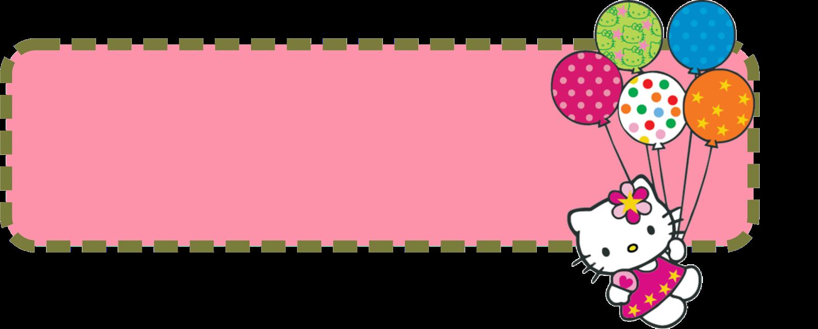 Hello Kitty Banner Template