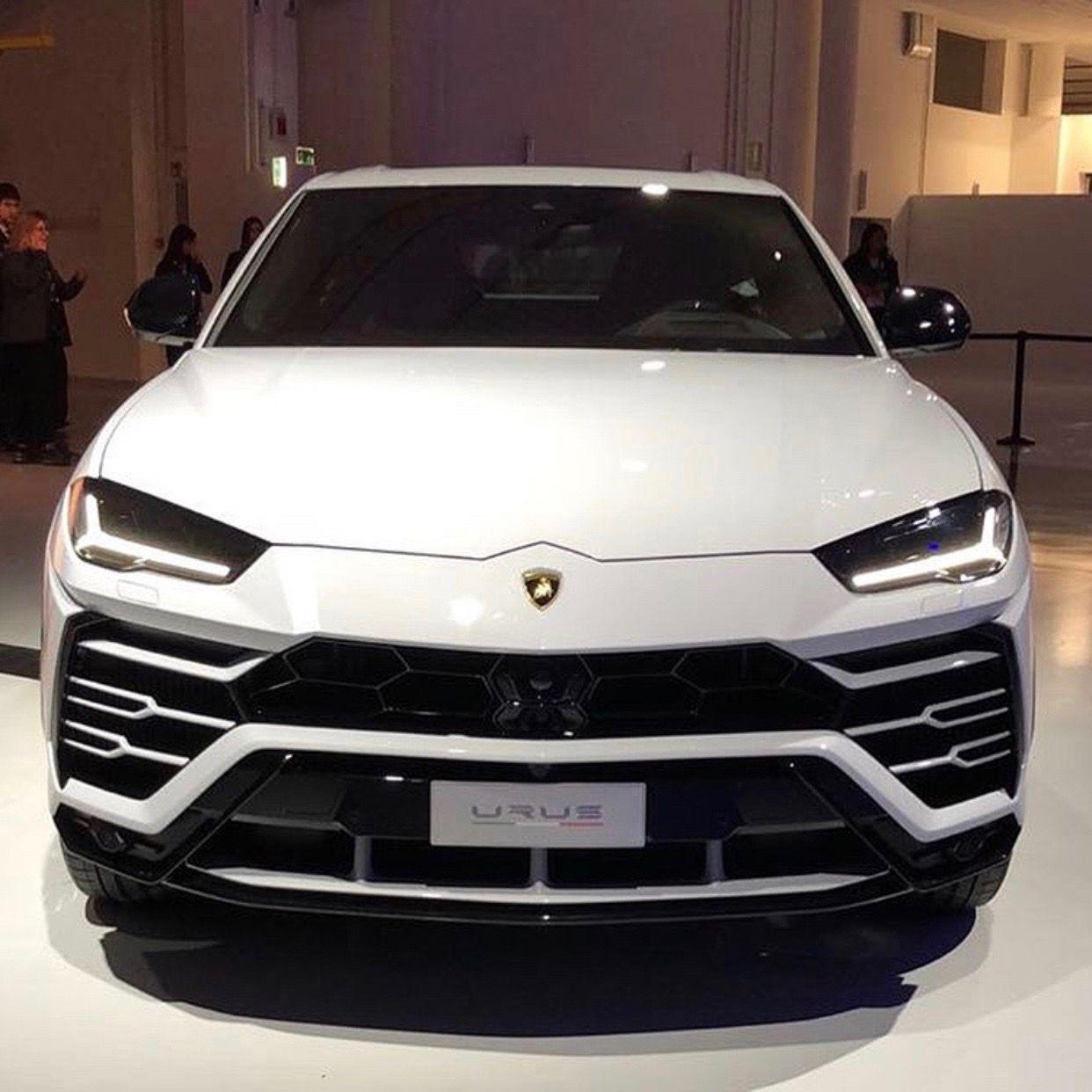 Lamborghini Urus Painted In Bianco Monocerus Photo Taken