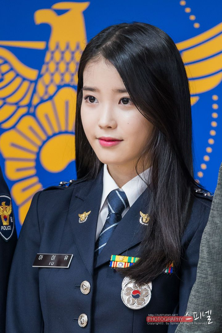 KPOP: IU Promoted to Senior Police Officer
