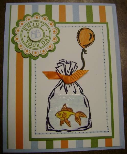All Wrapped Up Birthday by motherof4boys - Cards and Paper Crafts at Splitcoaststampers