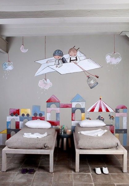 The Post Wall Murals For Interiors Camerette Decorazioni Per