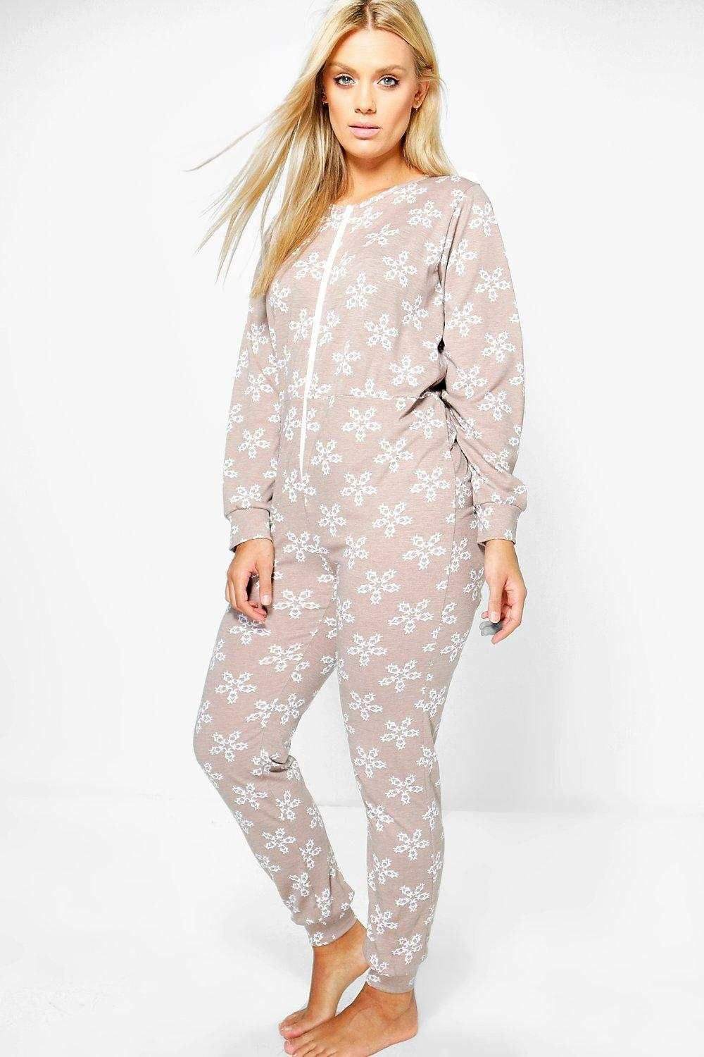 1a2d036488 snowflake plus size luxe onesie snug soft onesie stay cosy this christmas  season with a onesie