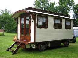 Pipo Woonwagen Dutch Style Gypsy Wagon Roulottes