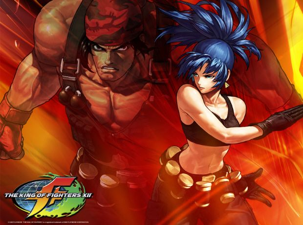 Leona Ralf King Of Fighters Fighter Anime