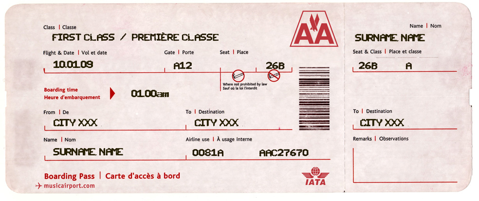 Make Your Own Airline Tickets! Best Idea Ever! Http://omatic.  Make Your Own Tickets Template