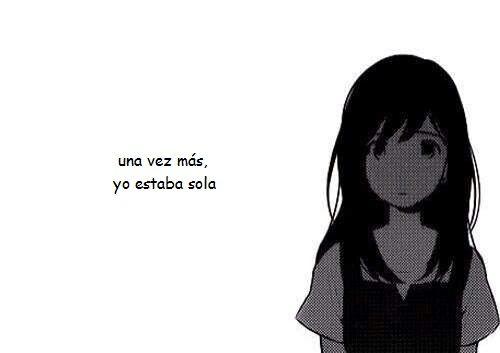 Una Vez Mas Yo Estaba Sola Chica Anime Manga Chica Anime Manga