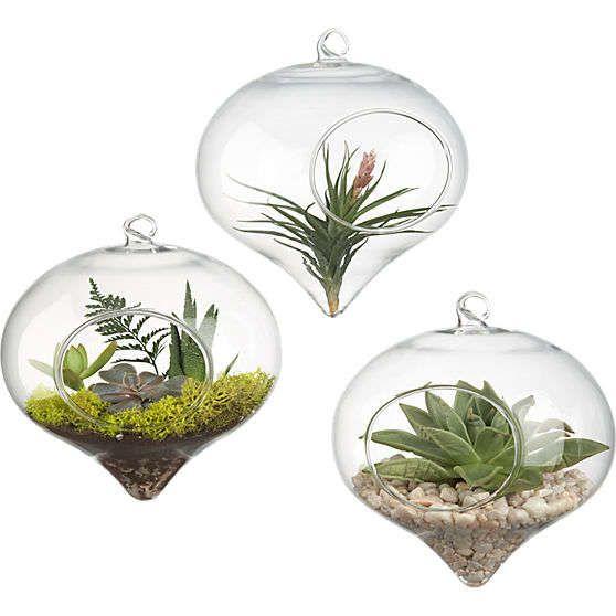 23 Eco Friendly Ornaments Hanging Terrarium Glass 400 x 300