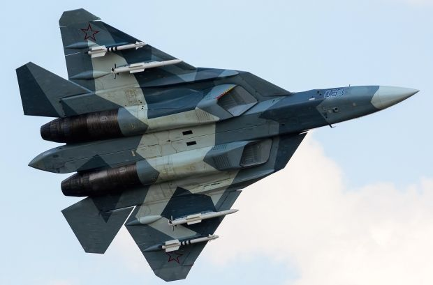 """1st T-50 will begin flight tests with new engines in 4th quarter of 2017. Flies since 2010 with NPO Saturn """"Item 117"""" engines with thrust of 14.5 tonnes (32,000 pounds) and derivative engines """"Item 117S"""" of Sukhoi Su-35 Flanker Advanced. New engines began their ground testing. Seem to offer thrust between 15 and 20 tons (33 000-44 000 pounds). Motor derived from demonstrator MiG 1.42 which briefly flew in 2000. Final adaptation of T-50 will be in 2018-2020, with state acceptance trials in…"""