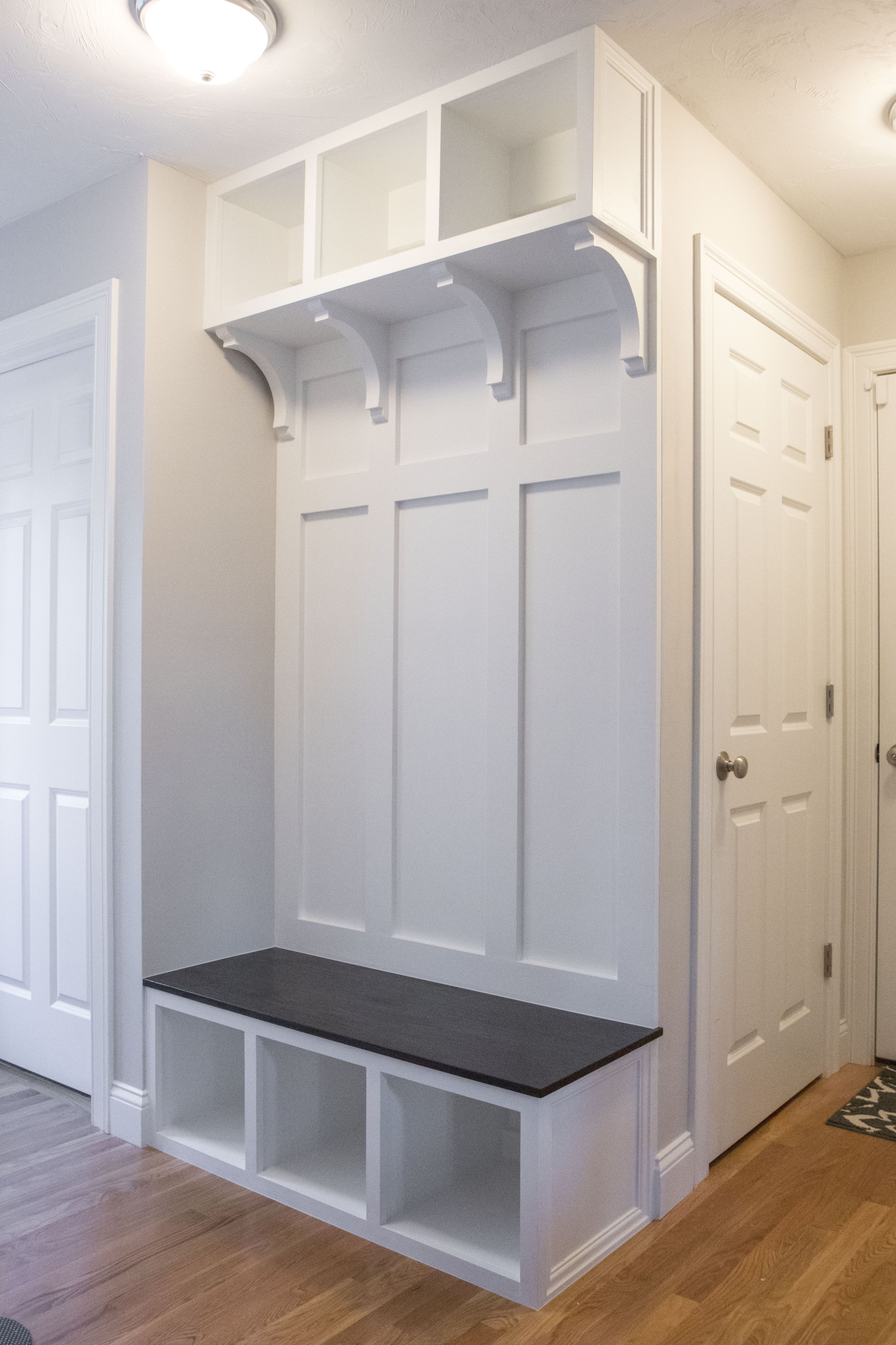 Diy Mudroom House Stuff Entryway Bench Storage