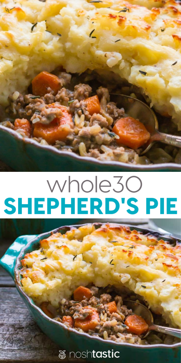 Whole30 Shepherds pie, delicious, healthy weeknight family dinner, we all love i…