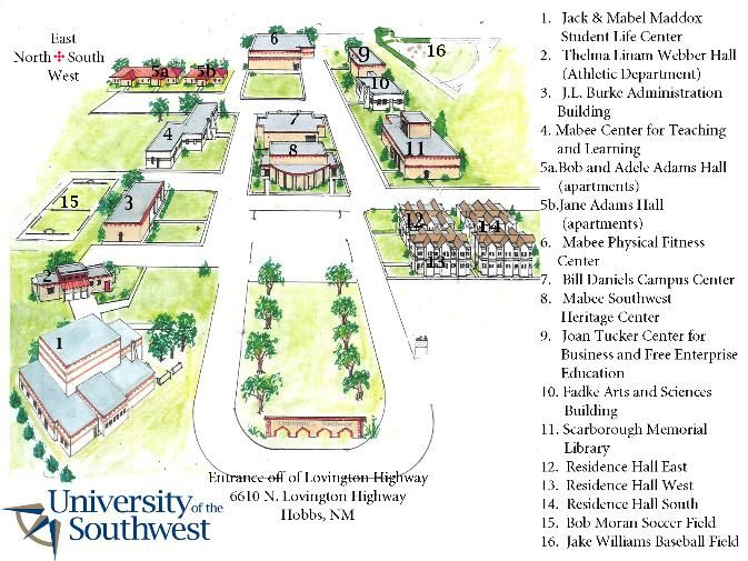 Langston University Campus Map.Campus Map My Grad School Pinterest Campus Map And School