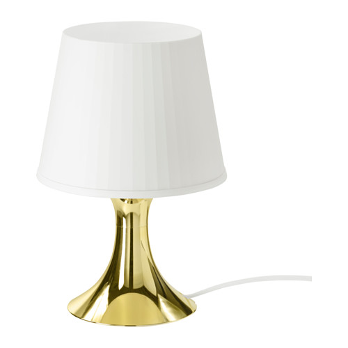 Lampan table lamp with led bulb gold bulbs room and cosy ikea lampan table lamp with led bulb creates a soft cozy mood light in your room mozeypictures Gallery