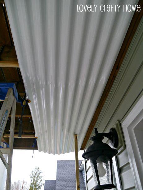Diy Palruf Underdeck Panels Under Deck Roofing Under Deck